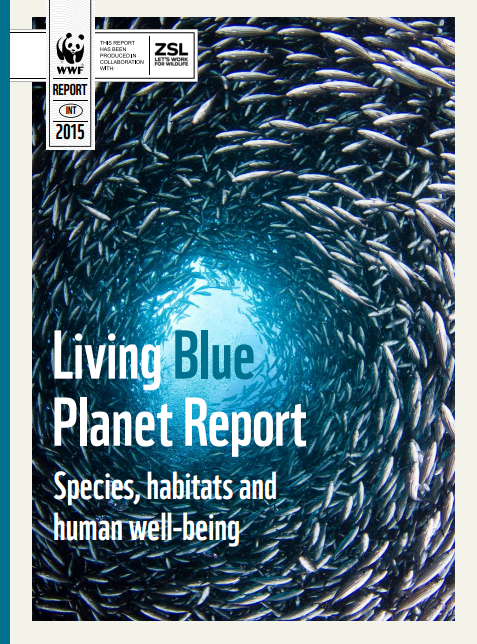 Living Blue Planet Report cover